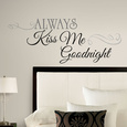 Word & Quote Wall Stickers Poster