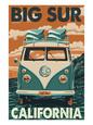 Volkswagen-bus Posters