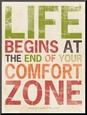 Życie, angielski Umocowany wydruk według Stephanie Marrott