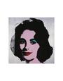 Liz, 1963 Kunsttryk af Andy Warhol
