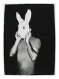 Man With Rabbit Mask, C. 1979 Giclée-tryk af Andy Warhol