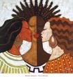 Afrikansk-amerikansk, figurativ Posters