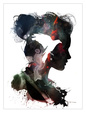 Digital kunst Posters