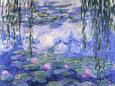 Åkander Kunsttryk af Claude Monet