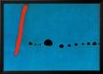 Mavi II Çerçeveli Sanatsal Reprodüksiyon ilâ Joan Miró