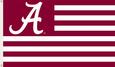 Alabama Crimson Tide Flags Posters