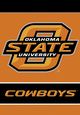 Oklahoma State Cowboys Wall Scrolls Posters