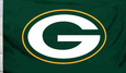 NFL Green Bay Packers Flag with Grommets Bandera