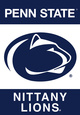 NCAA Penn State Nittany Lions 2-Sided Banner With Pole Sleeve Bandera