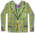 Long Sleeve: Plaid Suit Koszulka z długim rękawem