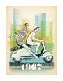 Damemode (vintagekunst) Posters