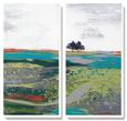 Summer Breeze Kanvas Sanatı Seti ilâ Leslie Bernsen