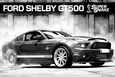 Ford Shelby - GT500 Supersnake Plakat