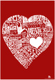 Love Languages Text Poster Poster
