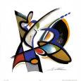Frisbee Kunsttryk af Alfred Gockel