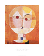 Head of Man, Going Senile, c.1922 Art Print by Paul Klee