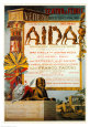 Verdi- Aida Reproduction d'art