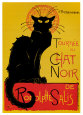 Chat Noir Art Print by Thophile Alexandre Steinlen