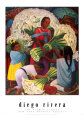 The Flower Vendor Art Print by Diego Rivera