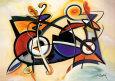 Combo Kunsttryk af Alfred Gockel
