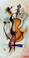 Jammin' I Kunsttryk af Alfred Gockel