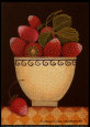 Cup o' Strawberries Art Print by Diane Pedersen