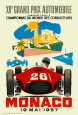 Monaco Grand Prix, 1957 Collectable Print
