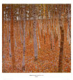 Beech Forest (Klimt) Posters
