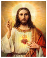 Sacred Heart of Jesus Art Print