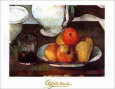 Pommes et poires Reproduction d'art par Paul Cézanne
