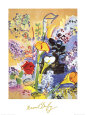 Bouquet d'Arums Art Print by Raoul Dufy