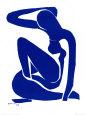 Modrý akt I, c.  1952 Umělecká reprodukce od Henri Matisse