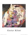 The Virgin Kunsttryk af Gustav Klimt