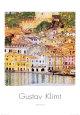 Malcesine sul Garda Kunsttryk af Gustav Klimt