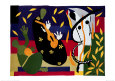 La tristesse du roi, 1952 Reproduction d'art par Henri Matisse