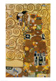 Fulfillment, Stoclet Frieze, c.1909 Art Print by Gustav Klimt
