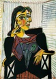 Portrait of Dora Maar, c.1937 Art Print by Pablo Picasso