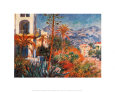 Villas at Bordighera (Monet) Posters