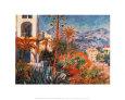 Villas at Bordighera (Monet) Posters