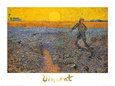 The Sower, c.1888 Art Print by Vincent van Gogh