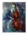 Prodigio descalzo Lámina por Martha Moore