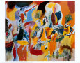 Water of the Flowery Mill Art Print by Arshile Gorky