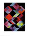 Tridem K Kunsttryk af Victor Vasarely
