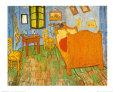 Soveværelset i Arles, ca.1887 Kunsttryk af Vincent van Gogh