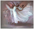 Angel Wings Art Print by Laverne Ross