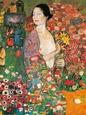 Die Tanzerin Kunsttryk af Gustav Klimt