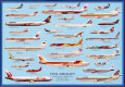 Airplane Civil Aircraft Plakat