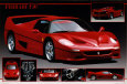 Ferrari F 50 Poster