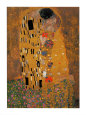 Le Baiser, vers 1907 Reproduction d'art par Gustav Klimt