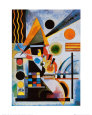 Balancement Art Print by Wassily Kandinsky